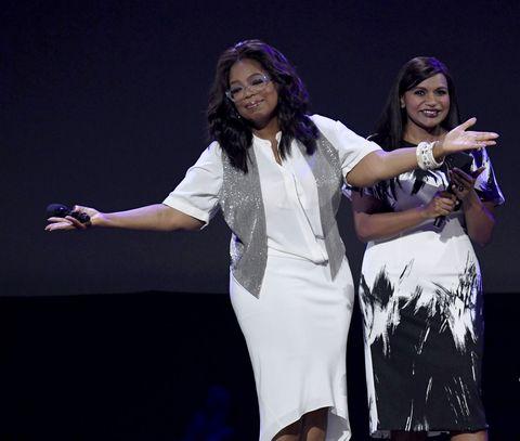 Oprah Winfrey Mindy Kaling
