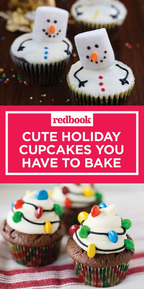 19 Best Christmas Cupcake Recipes - Holiday Cupcake Decorating Ideas