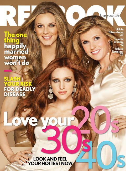 Ashlee Simpson, Alicia Silverstone, Connie Britton