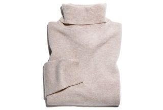 ...plush, cozy cashmere.
