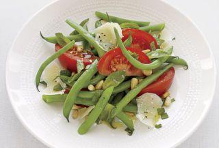 Green Beans: crisp, firm, crunchy