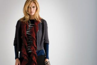 Layers of Fine-Gauge Knit