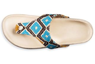 Amped-Up, Earthy Sandals