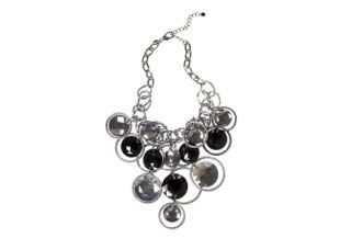 big chunky pewter necklace