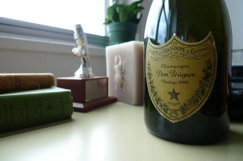 Diy Recycled Champagne Bottle Vase