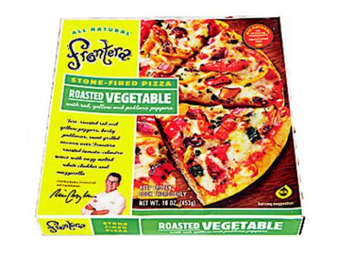frontera roasted vegetable frozen pizza