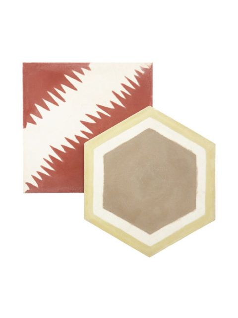 square and octagon floor tiles