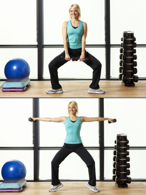 shoulder raise exercise