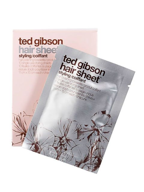 ted gibson hair styling sheet
