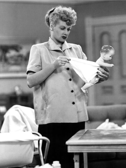 lucille ball's pregnancy