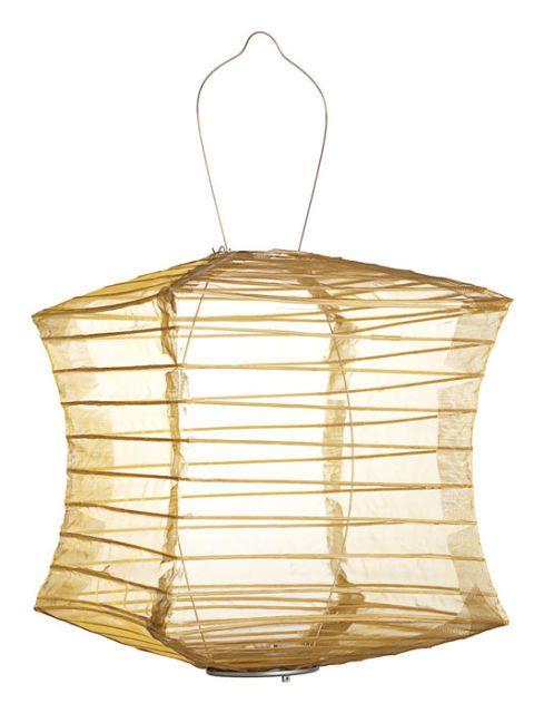 silk effect lantern
