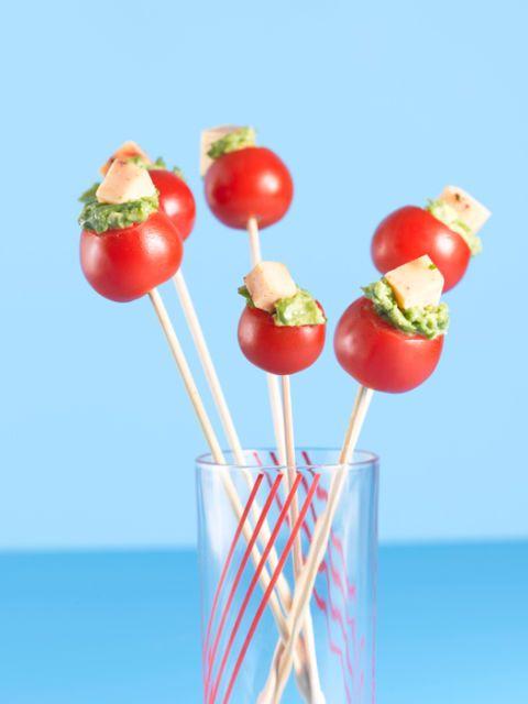 cherry tomato lollipops