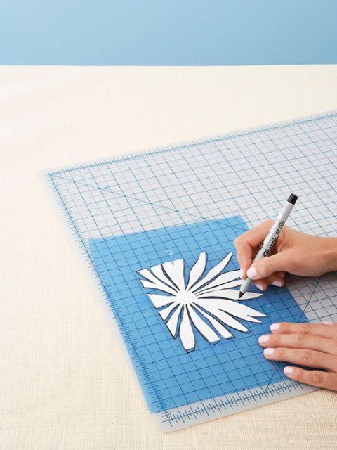 trace a stencil