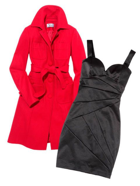 Little Black Dresses Amp Winter Coats Women S Winter Fashion