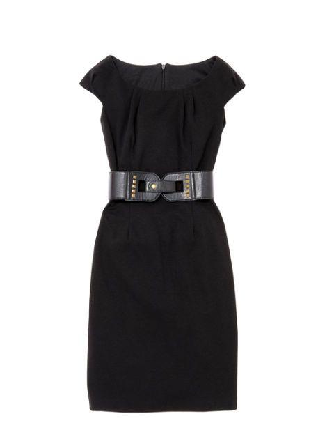 Macys black dress