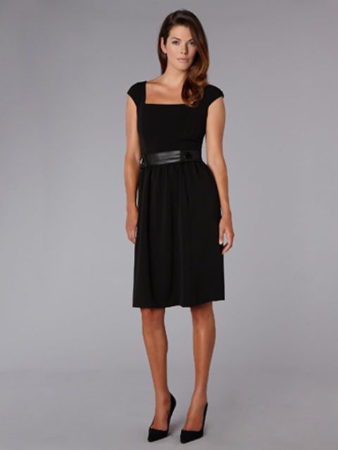 a david meister little black dress