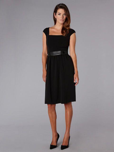 a david meister little black dress
