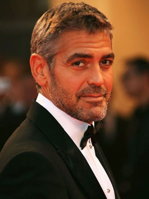george clooney in a tux