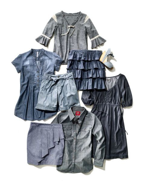 chambray apparel