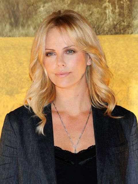 charlize theron for wave and volume