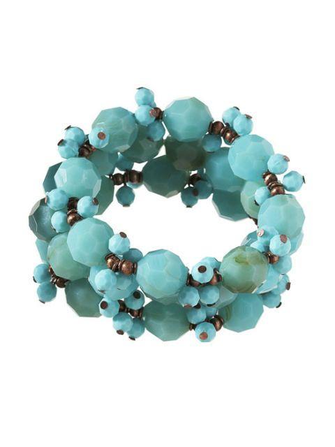 turquoise stretch bracelets