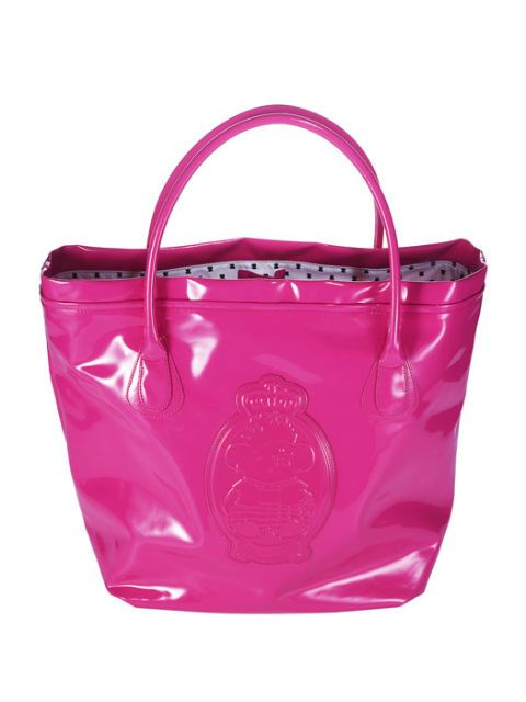 pink tote from tous