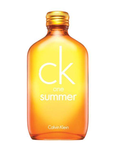 a bottle of calvin klein perfume