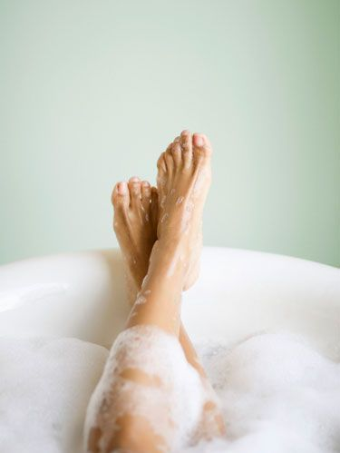 feet in a tub