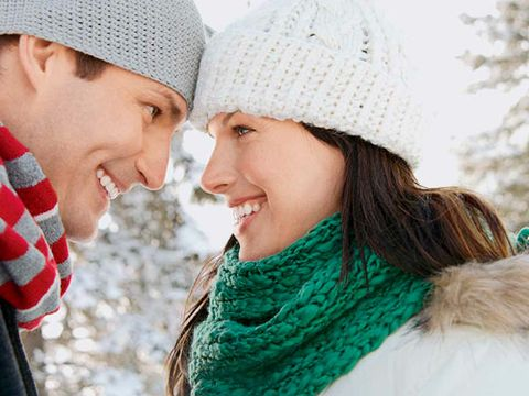 Couple in the Winter