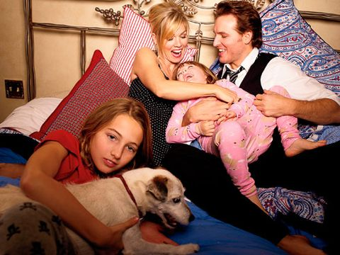 Jennie Garth with her family