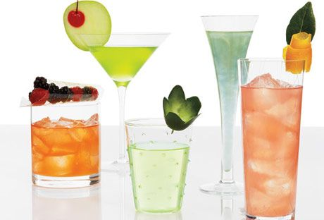 Pretty Drink Garnishes