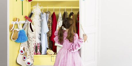 Give Dress-up Clothes a Special Space