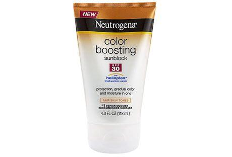neutrogena color boosting sunblock