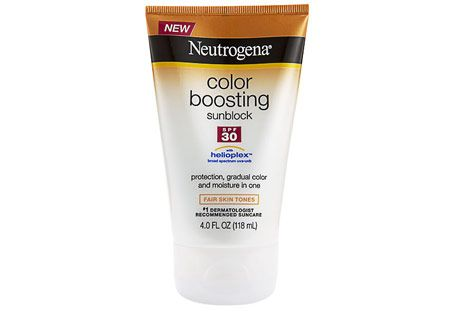 neutrogena color boosting sunblock