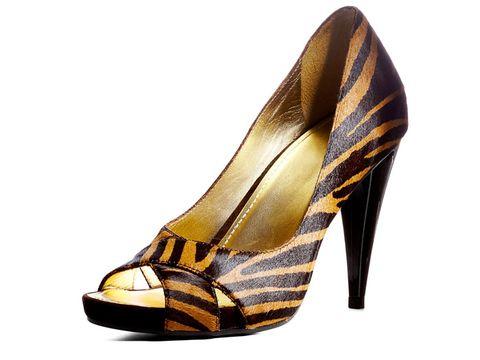 animal print michael kors heels