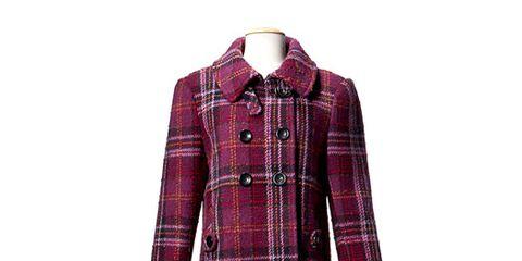 wool plaid coat