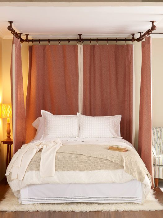 Romantic Bedroom Decor   Make Your Bed Romantic With Curtain Panels