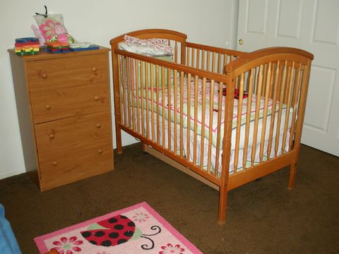 nursery before makeover