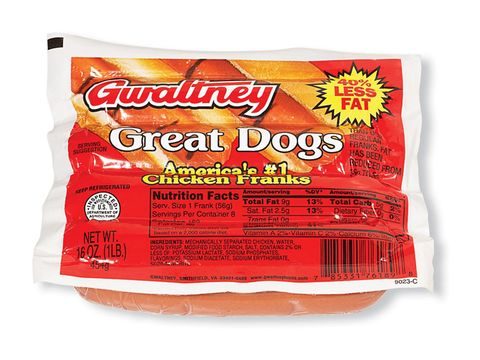 gwaltney great dogs chicken franks