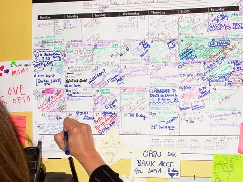 Organize a Busy Schedule - Tips for Organizing