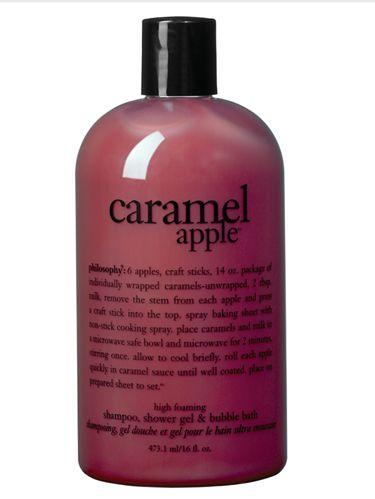 Philosophy 3-in-1 Caramel Apple Shampoo, Shower Gel, and Bubble Bath