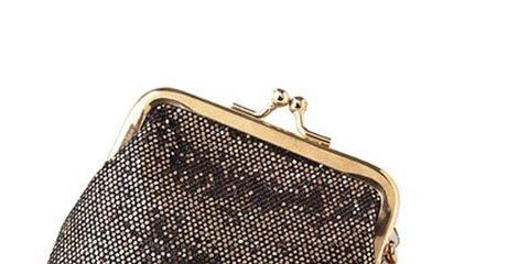 mark purse and lipgloss