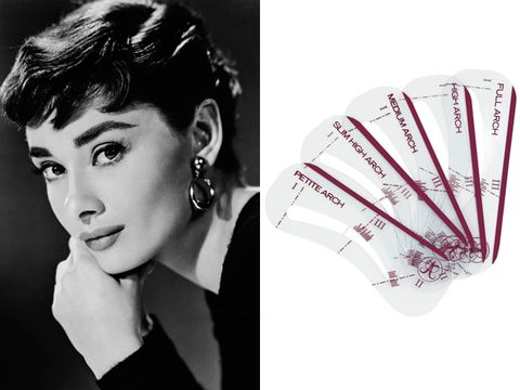 audrey hepburn's eyebrows