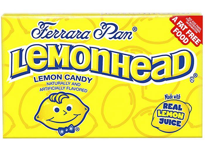 box of lemonheads