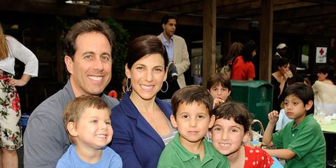jessica and jerry seinfeld with kids