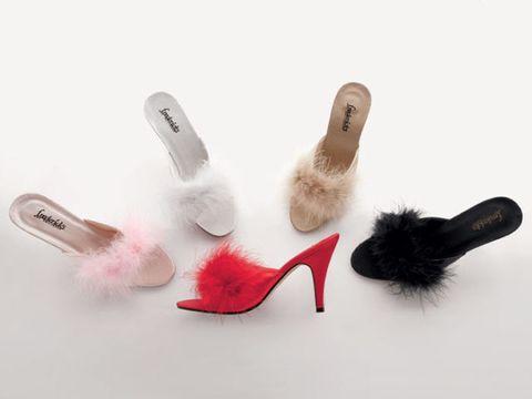 marabou slipper
