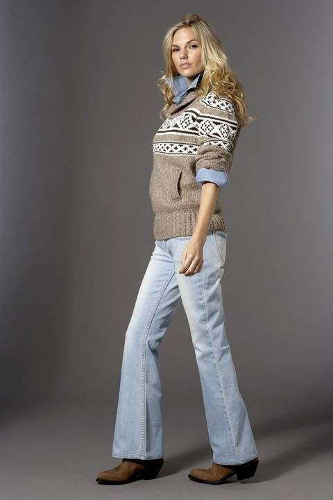 <b>It's no surprise that classic cowboy boots feel right at home with broken-in boot-cut jeans. </b>