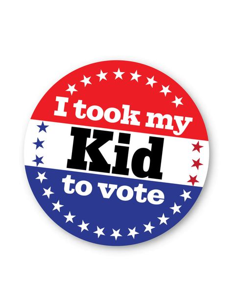 Take your kids to vote