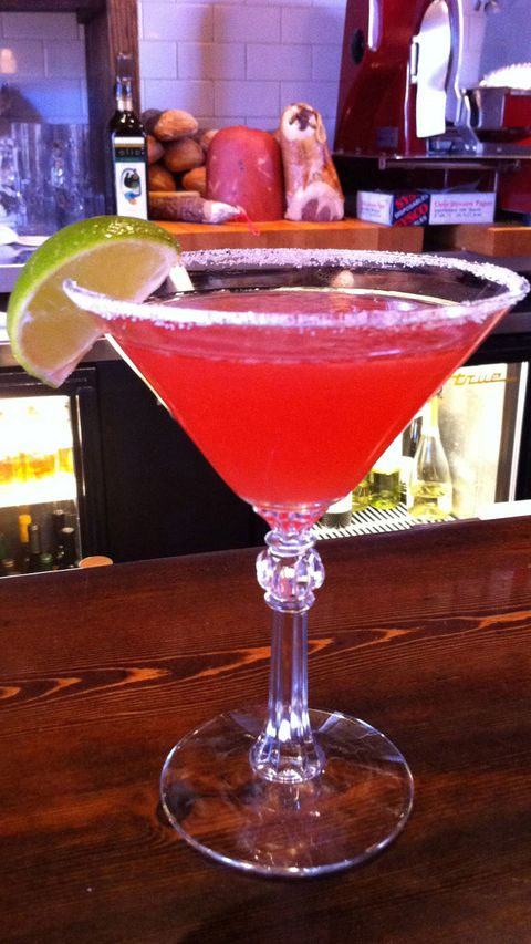 low-alcohol Campari Margarita