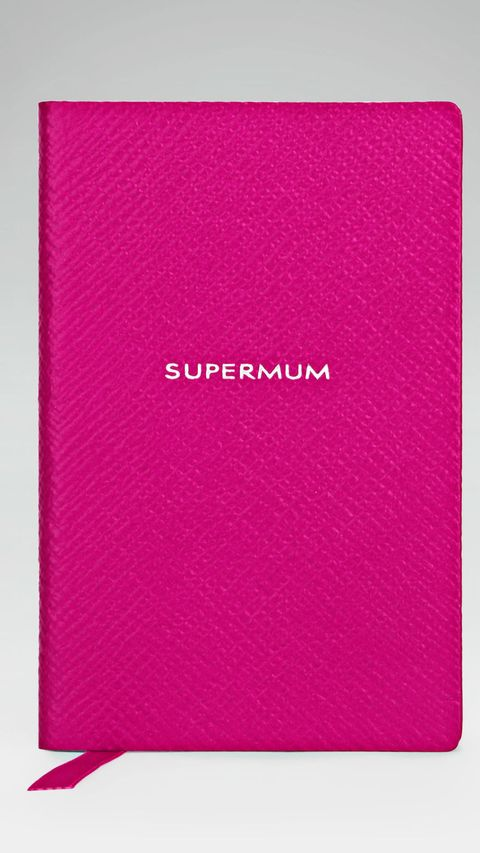 hot pink supermum notebook